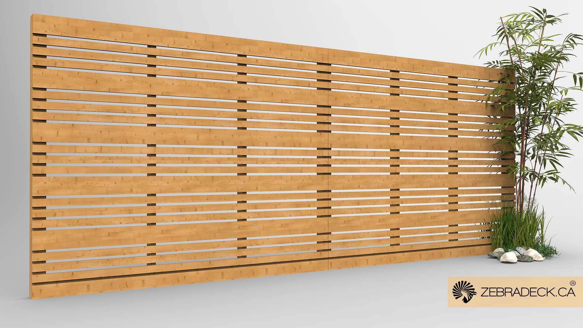 fence design. 3.1 Horizontal Fence(1) Fence Design