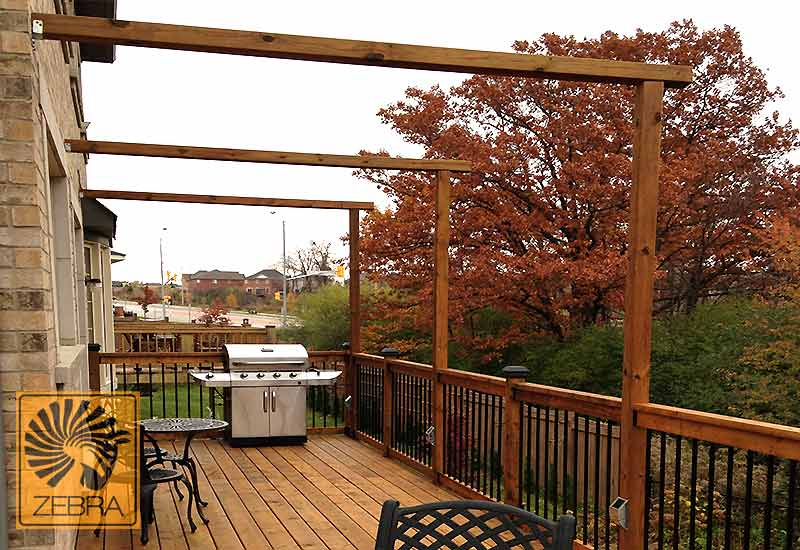 Deck Decorative Beams
