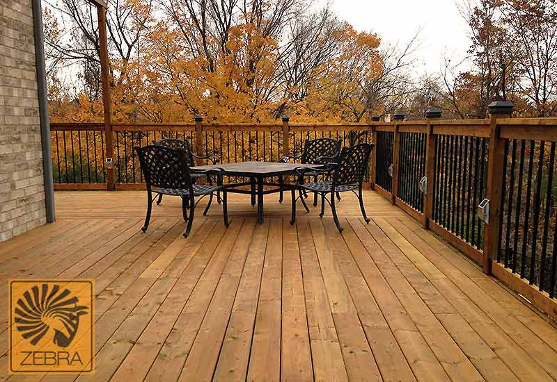 Deck Stained Natural