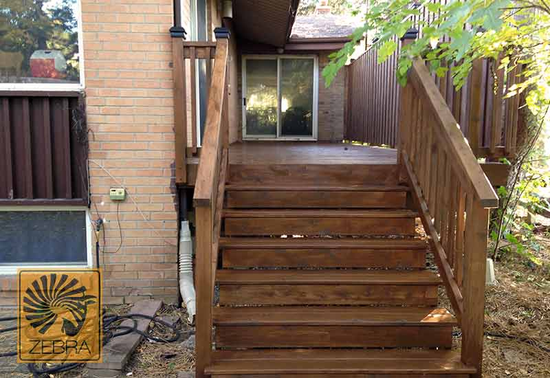 Brown Stain Deck
