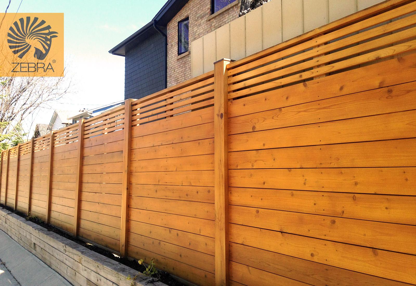 Horizontal Cedar Fence Finest Horizontal Fence Design
