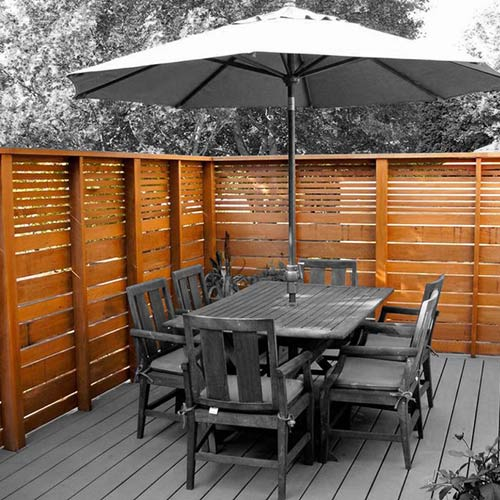 Privacy Screen Deck